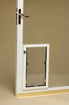 Hale In-Glass Pet Door TM for French Doors or full lite glass door
