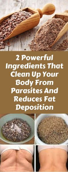 2 Powerful Ingredients That Clean Up Your Body From Parasites And Reduces Fat Deposition – Thin Is In Club