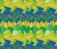imaginary scenery 1 fabric by kociara on Spoonflower - custom fabric