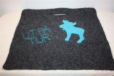Sitteunderlag - www.tilnytteogglede.com Seat Pads, Needle Felting, Knit Crochet, Rugs, Nye, Knitting, Farmhouse Rugs, Tricot, Breien