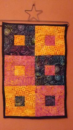 Miniquilt patchwork