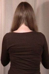 How to trim your own long hair. V-shaped, u-shaped, or blunt straight edge - Hair Cuts Diy Hair Trim, Long Hair Trim, Trim Your Own Hair, How To Cut Your Own Hair, Diy V Shaped Haircut, Diy V Haircut, V Cut Haircut, Curly Hair Cuts, Long Hair Cuts