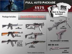 The Full Auto Experience – Machine Guns Vegas