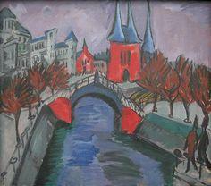 Ernst Ludwig Kirchner Elisabethufer 1913-1 - Ernst Ludwig Kirchner - Wikimedia Commons