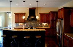 Custom kitchen @ The Windham