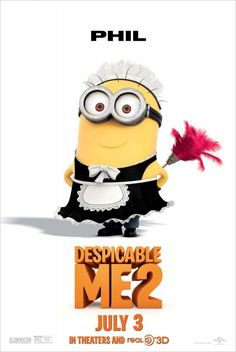 Despicable Me 2 so adorable saw it yesterday it is the most adorable thing EVER after 1D of course