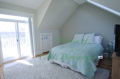 Bright bedroom at the Newton townhouse rental - CAL Photography - listing photograph service in the Greater Boston area