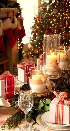 Christmas tablescape..... #Christmas #Holidays #RealEstate www.tinablackmon.com