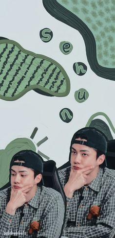 Sehun, Exo, Hats, Wallpaper, Fashion, Moda, Hat, Fashion Styles, Wallpapers