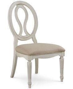 Sag Harbor Round Pierced Back Side Chair