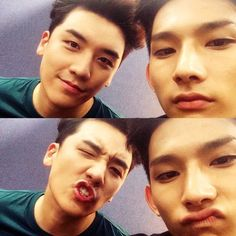 Seungri's Instagram with Park Hyeong Seop (Korean Model) 140815