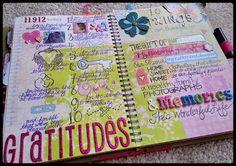 A Crafty Island Girl: Smashbook: 2012 Thanks & Gratitudes