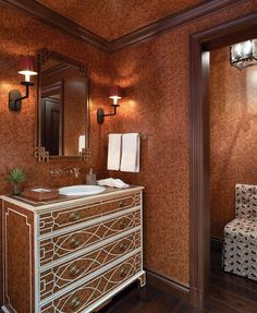 Among The Living, Bathroom Styling, Architecture Details, Palm Beach, Interior Design, Van, House, Ceilings, Bathrooms