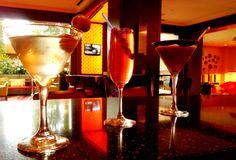 Our Winter Seasonal Drinks: Sake-Tini, Cranberry Sparkle & Chocotini. #RenHotels #RenSouthPark #SipSavorShopeSee