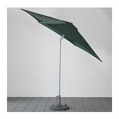 KARLSÖ Umbrella - tilting/green - IKEA