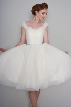 LouLou Bridal Wedding Dress LB191 Flossie