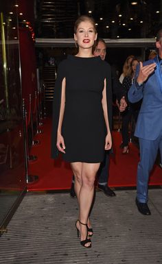 Pin for Later: From Bond Girl to Gone Girl: How Rosamund Pike Won the Award Season Red Carpet Hector and the Search For Happiness London Premiere