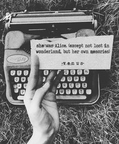 Alice? Why would you leave wonderland? #poetry #venuspoetry #poetscommunity #poetsofinstagram #poetsclub #spilledink #wordporn…