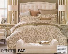Groupon - Cotton Beige Floral Printing Duvet Cover Set F/Q. Beige Duvet Covers, Bed Covers, Duvet Cover Sets, Queen Beds, Queen Bedding, Cotton Twill Fabric, Floral Stripe, Quilt Cover, Bed Sheets