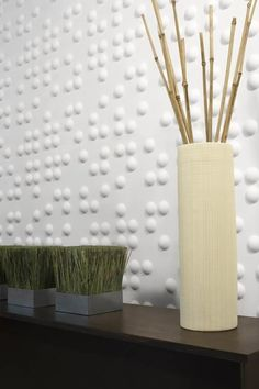 3d statement wall. Clean look and totally on-trend. The Kormendy Trott Team - Century 21 Miller Real Estate | www.kormendytrott.com