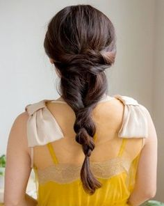 Twisted Braided Long Prom Hairstyles 2015 – 2016