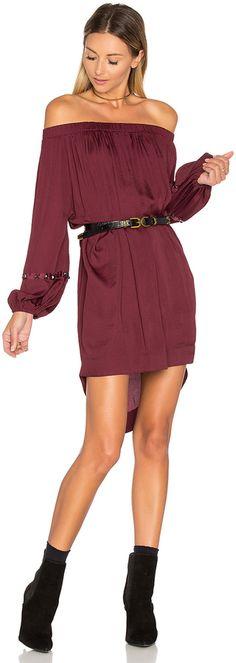 One Teaspoon San Cerena Shoulder Dress