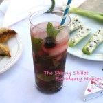 Skinny Blackberry Mojito - Yum