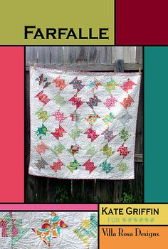 Start with 72 precut 5-inch squares, add a bit of background, backing and binding fabrics, and you are on your way to making this quick and easy quilt