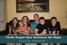 Florida Prepaid Open Enrollment has begun + They are giving away TEN SCHOLARSHIPS #StartingIsBelieving #ad