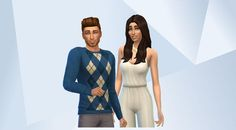 Confira esta família/grupo na Galeria do The Sims 4! - Friends since kindergarten, these two have stuck together through fail and foul. But after becoming roomates, something changed. Esme wants to be more than friends. Does Steven feel the same way?