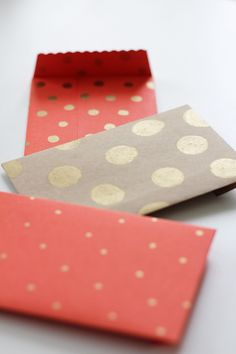 DIY Envelopes | Fellow Fellow