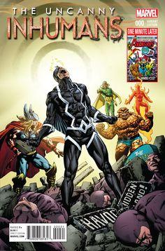 The Uncanny Inhumans #0, la preview