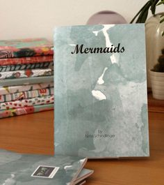 Zine Mermaids, x in), Illustrations, Limited Colour Art Zine, Mermaid Illustration, Strong Female Characters, Self Publishing, Freelance Illustrator, Creative Studio, Chibi, Bubbles, Watercolour