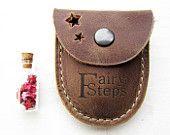 コインと宝の財布、DUSTスター、ナッツブラウン