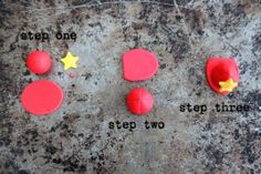 firemans hat - tutorial Great idea for cupcakes Fondant Toppers, Fondant Cakes, Cupcake Toppers, Cupcake Cakes, Fondant Tools, Cup Cakes, Firefighter Cupcakes, Fireman Sam Cake, Fireman Cupcakes