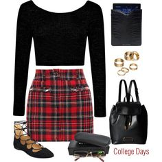 Cute college outfit ideas 2017 (20)