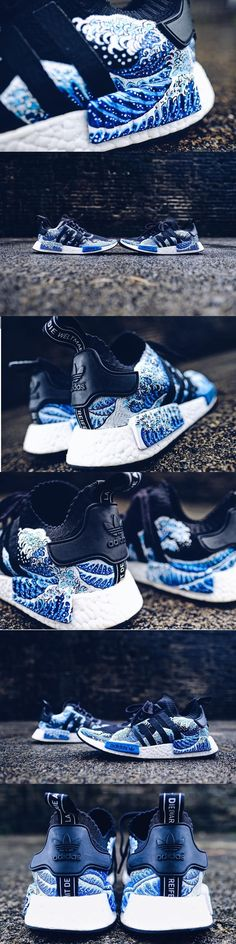 #Adidas #NMD #R1 (Blue Wave)