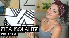 Fita Isolante na Tela | by Aline Albino