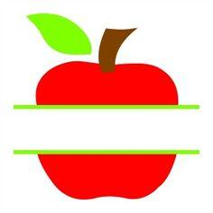 Split Apple SVG