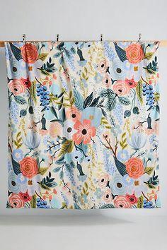 Rifle Paper Co. for Anthropologie Garden Party Duvet Cover Linen Duvet, Linen Fabric, Full Duvet Cover, Duvet Covers, Design Thinking, Anthropologie Bedroom, Waffle Blanket, How To Clean Iron, King Sheet Sets
