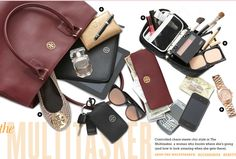 Bloomingdales: The Multi-tasker. What's In My Purse, Whats In Your Purse, What In My Bag, What's In Your Bag, Women's Bags, Purses And Bags, Inside My Bag, Tote Backpack, Daily Style
