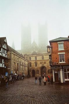 Lincolnshire, England (with Lincoln Cathedral in the fog) Oh The Places You'll Go, Places To Travel, Places To Visit, Travel Destinations, Amazing Destinations, Cities, Great Britain, Britain Uk, Future Travel
