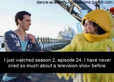Dance Academy confessions