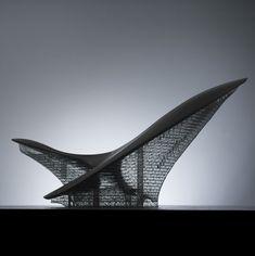 wings11 Architecture Concept Diagram, Sacred Architecture, Organic Architecture, Futuristic Architecture, Architecture Design, Adrian Smith, Airport Design, Canopy Design, Boat Design