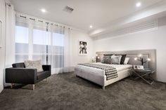 The Lotus © Ben Trager Homes | Perth Display Home | Master Bedroom