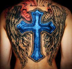 Full Cross Tattoo
