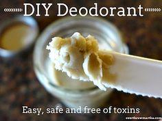 DIY Deodorant with Bentonite Clay & Coconut Oil   Overthrow Martha   Bloglovin'