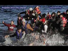 Jesus aparece a refugiados que cruzavam o mar Egeu