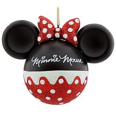 Your WDW Store - Disney Christmas Ornament - Mickey Ears Large - Minnie Mouse Mickey Mouse Ornaments, Minnie Mouse Christmas, Mickey Y Minnie, Noel Christmas, Xmas Ornaments, Christmas Balls, Christmas Crafts, Mickey Ears, Homemade Ornaments