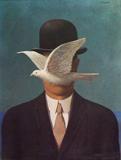 René Magritte – was a Belgian surrealist artist. Magritte's work. Rene Magritte, Conceptual Art, Surreal Art, Magritte Paintings, Deco Paint, Minimalist Art, Art Pictures, Collages, Art History